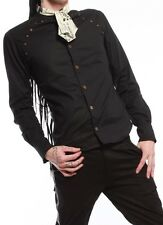 LIP SERVICE STEP IN TIME MEN'S SHIRT STEAMPUNK