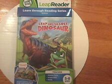LeapReader Interactive Book by LeapFrog, Leap & the Lost Dinosaur, Science, New