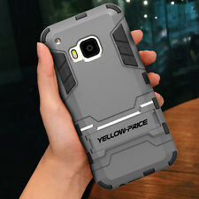 Armor Case+Tempered Glass Screen Protector/Micro USB 2.0 Cable For HTC ONE M9