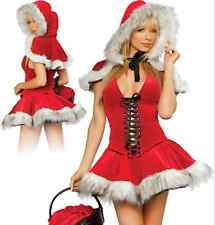New Sexy Women Ladies XMAS Fancy Party Costume COSPLAY CLUBWEAR DRESS OUTFIT