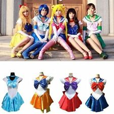 Sailor Moon Garment Princess Costume Cosplay Uniform Fancy party Dress & Gloves
