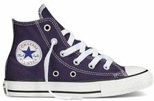 Converse Chuck Taylor Party High Top Junior Girls Shoes Trainers Purple
