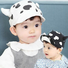 1pcs Cute New Milk Baseball Hat Toddler Beret Sun Cap Child Baby Cotton Infant