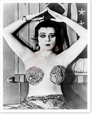 1917 Silent Movie Vamp Actress Theda Bara Cleopatra Celebrity Photo