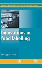 Innovations in Food Labelling by J Albert Hardcover Book (English)