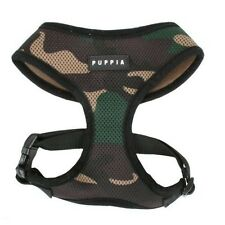 Authentic Puppia Soft Dog Harness, Camouflage, Medium