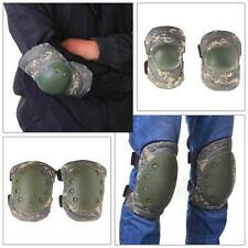 4Pcs Knee Elbow Protective Pad Gear Sports Tactical Airsoft Combat Pretty Skate