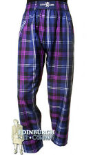 DONNELLI - MENS/GENTS CASUAL SCOTTISH TARTAN TROUSERS/PANTS - CHOICE OF TARTANS!