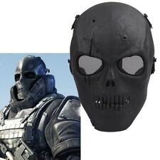 High quality Black Army Skull Skeleton Airsoft Paintball BB Gun Game Face Mask