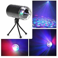 Stage Lighting DJ Disco Bar Party Club 3D Rotating RGB LED Effect Ball Lamp US