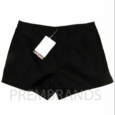 NEW WOMEN'S INWEAR RELAXED WAIST BLACK SHORTS SUMMER CASUAL UK 8 10 12 RRP £45