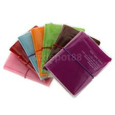 32 Cards Credit ID Business Name Card Holder Pocket Wallet U Choose Color