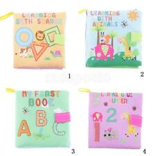 Soft Cloth Baby Kid Intelligence Development Early Learn Picture Cognize Book