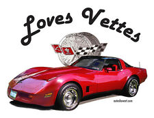 "AUTO ART T-SHIRT ""Loves Vettes"""