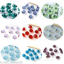 20/50/100Pcs Faceted Rondelle Exquisite Crystal Bead Jewelry DIY Creative Craft