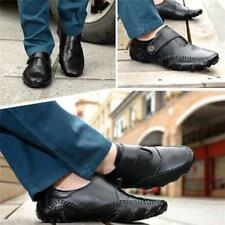 2016 Chic Men's Genuine Leather Moccasins Slip On Loafers Flats Driving Shoes FW