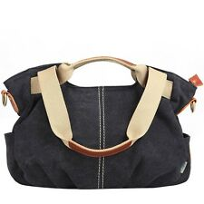 Casual Women Lady Hobo Messenger Purse Satchel Canvas Tote Handbag Shoulder Bag