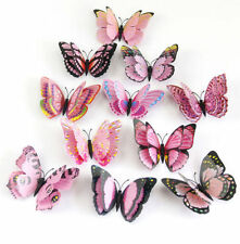12pcs Colorful Butterfly Decal Art Wall Stickers Room Decorations Home Decor ta