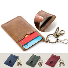 New Bus Card Student Card Package Credit Card Holder Bus IC PU Leather Case Bag