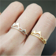 Hot 1pc Fashion Girls Cute Lovely Mountain Adjustable Opening Ring Jewelry Gift