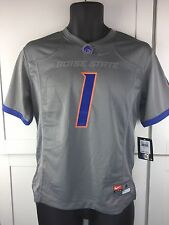 BOISE STATE BRONCOS JERSEY -NIKE YOUTH AUTHENTIC-SMALL & MEDIUM-NWT RETAIL $55