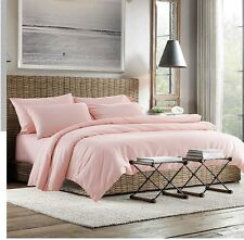 300TC  Egyptian Cotton WATERBED SHEET SET Percale Pink