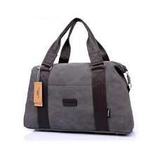 Men Women Large Duffle Holdall Gym Bag Carryall Tote Travel Carry on Cabin Bag
