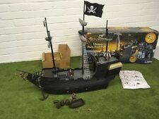 DISNEY PIRATES OF THE CARIBBEAN POTC ULTIMATE BLACK PEARL SHIP ZIZZLE 2.5ft