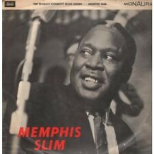 MEMPHIS SLIM World's Foremost Blues Singer LP 12 Track Mono In A Flipback Sleeve