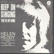 """HELEN REDDY Keep On Singing 7"""" B/w You're My Home (2c00881623) Pic Sleeve FRENCH"""