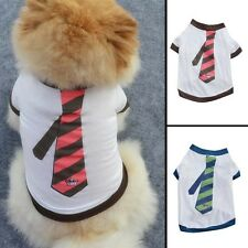 Cute Cat Small Dog Puppy Vest T-Shirt Pet Dog Clothes Puggy Apparel Costumes