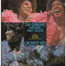 SUPREMES Greatest Hits LP 15 Track (stml11256) UK Tamla Motown