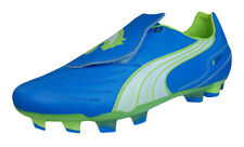 Puma V3.11 i FG Mens Leather Soccer Cleats / Boots - Blue