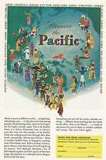 1962 Pacific Area Travel: Discover the Pacific Print Ad (5964)