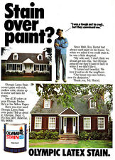 1979 Olympic Stain: Stain Over Paint Print Ad (23284)