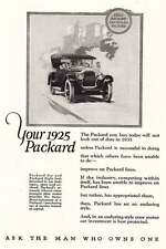 1925 Packard: Ask the Man Who Owns One Print Ad (4323)