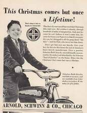 1939 Arnold, Schwinn & Co, Chicago: Lifetime Print Ad (16150)