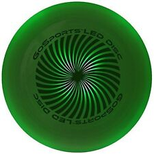 GoSports LED Light Up Flying Ultimate Disc, 175 grams, with 4 LEDs (Blue, Red, W
