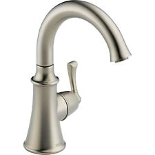Delta Faucet 1914-SS-DST Traditional Beverage Faucet, Cold Water Stainless Steel