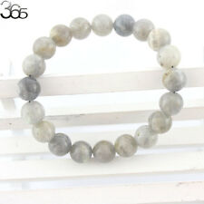 8mm Elegant Jewelry Handmade Natural Gemstone Round  Beads Stretch Bracelet 7.5""