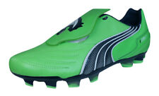 Puma V3.11 i FG Mens Leather Soccer Cleats / Boots - green