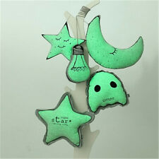 1X Night Luminous Light Bulb Star Pillow Cushion Toy Glow In The Dark Home Decor