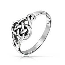 Bling Jewelry 925 Sterling Silver Irish Celtic Love knot Ring