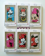Disney Minnie Mouse Case for iPhone 4 & 4 S Choice of Pattern New in Box HTF