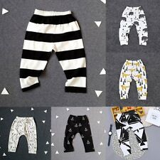 Kid Baby Toddler Infant Boy Girl Unisex Print Leggings Trousers PP Pants Cute