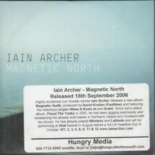 IAIN ARCHER Magnetic North CD 11 Track Promo With Info Stickered Card Sleeve (am