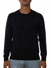 Paul Smith Sweater Pullover Sz. XL Man Blues PRXD996P-209-N PUT OFFER