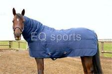 """FREE P&P Knight Rider Quilted Under Rug Full Neck 3'0""""-7'3"""" Navy 250g !!"""