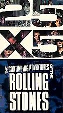 The Rolling Stones 25 x 5: Continuing Adventures of the Rolling Stones VHS NEW