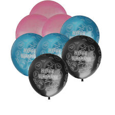20pcs Happy Birthday Circle Balloons Party Decoration 10""